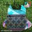 กระเป๋าผ้านกฮูก งานผ้า พร้อมสายคล้อง ด้านหลังเป็นซิปเก็บของ หลากหลายสีสัน thumbnail 2