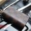 กระเป๋าซองหนังแท้ ใส่กุญแจรีโมทรถยนต์ Louis Vuitton ลายตาราง สี ดำ,น้ำตาล thumbnail 7