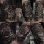 [NOCTURNAL] หมึกสักน็อคเทอร์นอล หมึกสักลายซุปเปอร์แบล็ค สีสักลายสีดำสนิทซุปเปอร์แบล็ก ขวดแบ่งขายขนาด 1 ออนซ์ สีสักนำเข้าจากประเทศอเมริกา American Jack Rudy & Franco Vescovi's Nocturnal Tattoo Ink Super Black (1OZ/30ML) thumbnail 3