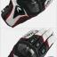 ถุงมือมอเตอร์ไซค์ TAICHI RST390 ขาวแดง thumbnail 3