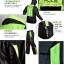 ชุดขี่มอเตอร์ไซค์ เสื้อกันฝน ยี่ห้อ PLOE สีเขียว ไซน์ XL สีดำ-เขียว thumbnail 5
