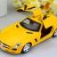 โมเดล รถเหล็กคลาสสิก แบบต้นฉับบ Mercedes - Benz สี แดง - ขาว - เหลือง thumbnail 5