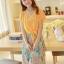 ชุดเดรสยาวแฟชั่นเกาหลี แม็กซี่เดรสสวยๆ สีเหลือง กระโปรงลายดอกไม้ เป็นชุดเดรสแนวหวานน่ารัก เรียบร้อย ดูดี ( S M L)