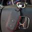 ซองหนังแท้ ใส่กุญแจรีโมทรถยนต์ HONDA HR-V,CR-V,BR-V,JAZZ Smart Key 2 ปุ่ม รุ่น ด้ายสี thumbnail 5