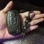 ซองหนังแท้ใส่กุญแจรีโมทรถยนต์ Ford Fiesta - Focus แบบพับข้าง โลโก้ฟ้า 3 ปุ่ม thumbnail 8