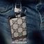 กระเป๋าซองหนัง ใส่กุญแจรีโมทรถยนต์ รุ่นซิบรอบ พิมพ์ลายโลโก้ Gucci thumbnail 9