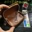กระเป๋าซองหนัง ใส่กุญแจรีโมทรถยนต์ รุ่นซิบรอบ พิมพ์ลายโลโก้ Gucci thumbnail 6