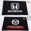 แผ่นยางกันลื่น ถาดรอง ติดคอนโซลรถยนต์ สไตล์ Vip โลโก้ Honda,Mazda สีดำ thumbnail 1