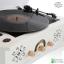 เครื่องเล่นแผ่นเสียงวินเทจ Multifunction 5in1: Rhapsody GH-280 CU Copper White thumbnail 13