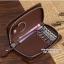 กระเป๋าหนังแท้ใส่พวงกุญแจ Cater gootaer สี ดำ-น้ำตาล-ชมพู-ดำเงา thumbnail 8