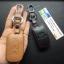 ซองหนังแท้ ใส่กุญแจรีโมทรถยนต์ Hyundai Sonata,Tucson,Elantra Smart Key 3 ปุ่ม thumbnail 7