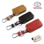 ซองหนังแท้ ใส่กุญแจรีโมทรถยนต์ Toyota,Prius,Camry,Keyless รุ่น ป้ายเงิน 3 ปุ่ม thumbnail 1