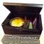 ชุดกำยานเล็กในกล่องไม้แบบมีฝาปิดพร้อมนิเกิลลายช้างบนฝาปิดกล่องไม้ สวยงาม ด้านในมีกำยาน และดอกเทียนในถ้วย ขายส่ง กาดเซ็นเตอร์รับจัดชุดกำยาน thumbnail 2