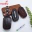 ซองหนังแท้ ใส่กุญแจรีโมทรถยนต์ NEW!! ISUZU D-Max X-Series,MU-X Smart Key thumbnail 6