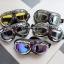 แว่นตาขี่มอเตอร์ไซค์ วินเทจ สีชา thumbnail 2
