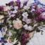 ชุดเดรสทำงานแฟชั่นสไตล์เกาหลีสวยๆ ชุดแซกกระโปรงใส่ทำงาน สีขาว พิมพ์ลายดอกไม้สัีน้ำเงิน ผ้าคอลตอลอัดลายดอกไม้ ซิปหลัง , thumbnail 9