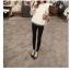 เสื้อสีขาว แขนยาวแต่งระบายสวยๆ ทรงตรงใส่สบาย แฟชั่นเกาหลี thumbnail 8