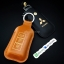 กระเป๋า ซองหนังแท้ ใส่กุญแจรีโมทรถยนต์ Mitsubishi Mirage,Attrage,Triton,Pajero รุ่นกระดุมแป๊ก thumbnail 3