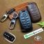 ซองหนังแท้ ใส่กุญแจรีโมทรถยนต์ หนัง Cowhide All New Toyota Fortuner/Camry Hybrid 2015-17 Smart Key 4 ปุ่ม thumbnail 1
