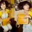 กระเป๋า สะพายไหล่ Messenger สีเหลือง thumbnail 1
