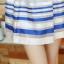 ชุดออกงานสวยๆแฟชั่นเกาหลี สีน้ำเงิน ผ้าลูกไม้ เหมาะกับการใส่ทำงาน หรือจะใส่ออกงาน ไปงานแต่งงานก็ได้ จะให้ลุคที่สวยสง่า thumbnail 13