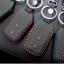 ซองหนังแท้ ใส่กุญแจรีโมทรถยนต์ HONDA HR-V,CR-V,BR-V,JAZZ Smart Key 2 ปุ่ม รุ่น ด้ายสี thumbnail 2