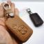 ซองหนังแท้ ใส่กุญแจรีโมทรถยนต์ Toyota Prius,Camry Keyless รุ่น 3 ปุ่มกด thumbnail 5