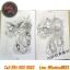 [HALF SLEEVE] หนังสือลายสักครึ่งแขน หนังสือสักลาย รูปลายสักสวยๆ รูปรอยสักสวยๆ สักลายสวยๆ ภาพสักสวยๆ แบบลายสักเท่ๆ แบบรอยสักเท่ๆ ลายสักกราฟฟิก Colorful Half Sleeve Tattoo Manuscripts Flash Art Design Outline Sketch Book (A4 SIZE) thumbnail 5