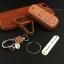 ซองหนังแท้ ใส่กุญแจรีโมทรถยนต์ รุ่นโลโก้เหล็ก Nissan Navara,Tiida Smart Key แบบใหม่ thumbnail 8