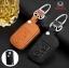 ซองหนังแท้ ใส่กุญแจรีโมทรถยนต์ หนัง Hi-End Honda City,Civic,Crv Keyless 2 ปุ่ม thumbnail 6