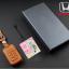 ซองหนังแท้ ใส่กุญแจรีโมทรถยนต์ Honda Accord All New City Smart Key 3 ปุ่ม thumbnail 10
