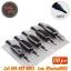 [18RT] ปลายกระบอกพร้อมด้ามจับสำเร็จรูป 25MM แพ็ค20ชิ้น ด้ามจับพร้อมปลายกระบอกเข็มสักพลาสติกแบบใช้แล้วทิ้งเบอร์ 18RT Disposable Plastic Tattoo Grip Tubes (20PC) thumbnail 1