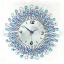 นาฬิกาแขวนผนัง - ประดับด้วยคริสตัล สวยหรู สไตล์ยุโรป ผลิตจากเหล็กดัดอย่างดี (Pre) thumbnail 10