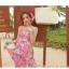ชุดเดรสยาว แซกยาว ใส่ไปเที่ยวทะเลสวยๆ โทนสีชมพู สายเดี่ยว พิมพ์ลายสวยๆ thumbnail 6