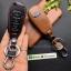 ซองหนังแท้ ใส่กุญแจรีโมทรถยนต์ All New Ford Ranger,Everest 2015-18 รุ่นหนังนิ่ม โลโก้-ฟ้า thumbnail 10