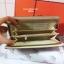กระเป๋าสตางค์ ซิปรอบ แบบพับยาว / กระเป๋าคลัทช์ สีทอง thumbnail 22