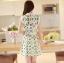 ชุดเดรสสั้นแฟชั่นเกาหลี พิมพ์ลายเก๋ๆ สีสดใส เหมาะกับการใส่เที่ยวสบาย หรือ จะใส่ไปงานเลี้ยง จะทำให้คุณดูสวย สง่า มั่นใจ thumbnail 6