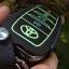 ซองหนังแท้ ใส่กุญแจรีโมทรถยนต์ รุ่นด้ายสีเรืองแสง All New Toyota Fortuner/Camry 2015-18 Smart 4 ปุ่ม thumbnail 14