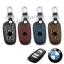 ซองหนังแท้ ใส่กุญแจรีโมท รุ่นด้ายสี พิมพ์โลโก้ BMW new series 3,5 รุ่น 3 ปุ่ม thumbnail 2