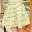 ชุดทำงานแฟชั่นเกาหลีสวยๆ ชุดทำงานออฟฟิศ ชุดเซ็ท 2 ชิ้น เสื้อคลุม + มินิเดรสสั้นสีเหลือง ผ้า Jacquard ( S,M,L,XL ) thumbnail 12