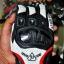 ถุงมือขี่มอเตอร์ไซค์ ยี่ห้อ ACOOLBAR สี สีขาว-แดง ไซน์ L thumbnail 3