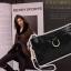 กระแฟชั่นกระเป๋าสไตล์เกาหลีมินนิ หนังแท้ ลายกราฟฟิก สีดำ thumbnail 2