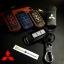 ซองหนังแท้ ใส่กุญแจรีโมทรถยนต์ รุ่นทูโทน Mitsubishi Mirage,Attrage,Triton,Pajero thumbnail 1