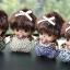 ที่ห้อยกุญแจตุ๊กตาแฟชั่น จากเกาหลี หรูหรา มีหลายแบบ thumbnail 13