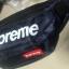 กระเป๋าคาดเอวขี่มอเตอร์ไซค์ Supreme สีกรม thumbnail 1