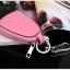 กระเป๋าซองหนังแท้ ใส่กุญแจรีโมทรถยนต์ สีสันสดใส สไตล์เกาหลี thumbnail 7