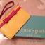กระเป๋าสตางค์กระเป๋าคลัทช์ Kate Spade มินิ โบว์ทอง/กระเป๋าสีเงิน thumbnail 14
