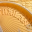 ของพรีเมี่ยม จานโลหะวงรี ขนาดกว้าง 14 ซม. สูง 12 ซม. thumbnail 2