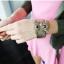 กำไรข้อมือ รูปนกฮูก สี เงิน - น้ำตาล - แดง thumbnail 5
