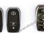 กรอบ-เคส ใส่กุญแจรีโมทรถยนต์ Toyota Hilux Revo Smat Key 3 ปุ่ม โลโก้_เงิน thumbnail 4